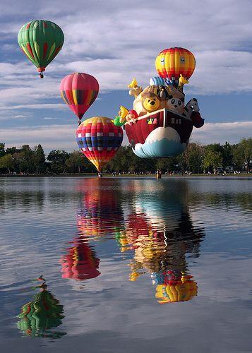 Cool Rides Of Colorado Springs >> Colorado Springs Balloon Festival 2008 Air Balloon Rides