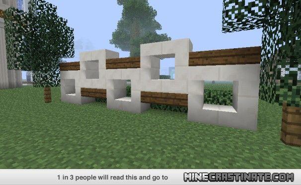 Detail Sexy Fence Design! Minecraft Pinterest Minecraft
