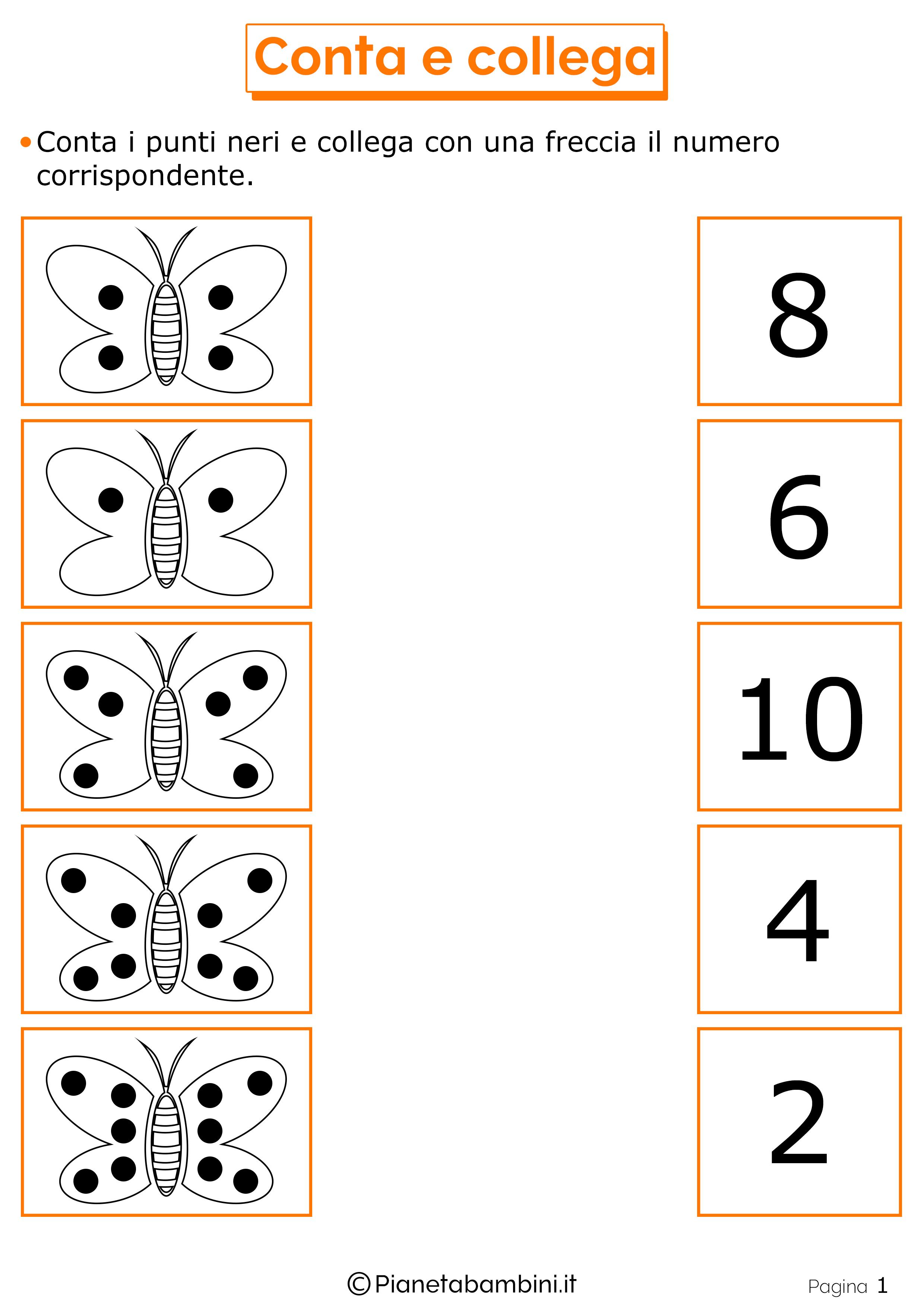 Giochi Di Matematica Per Bambini Di 6 7 Anni Da Stampare Cyfry