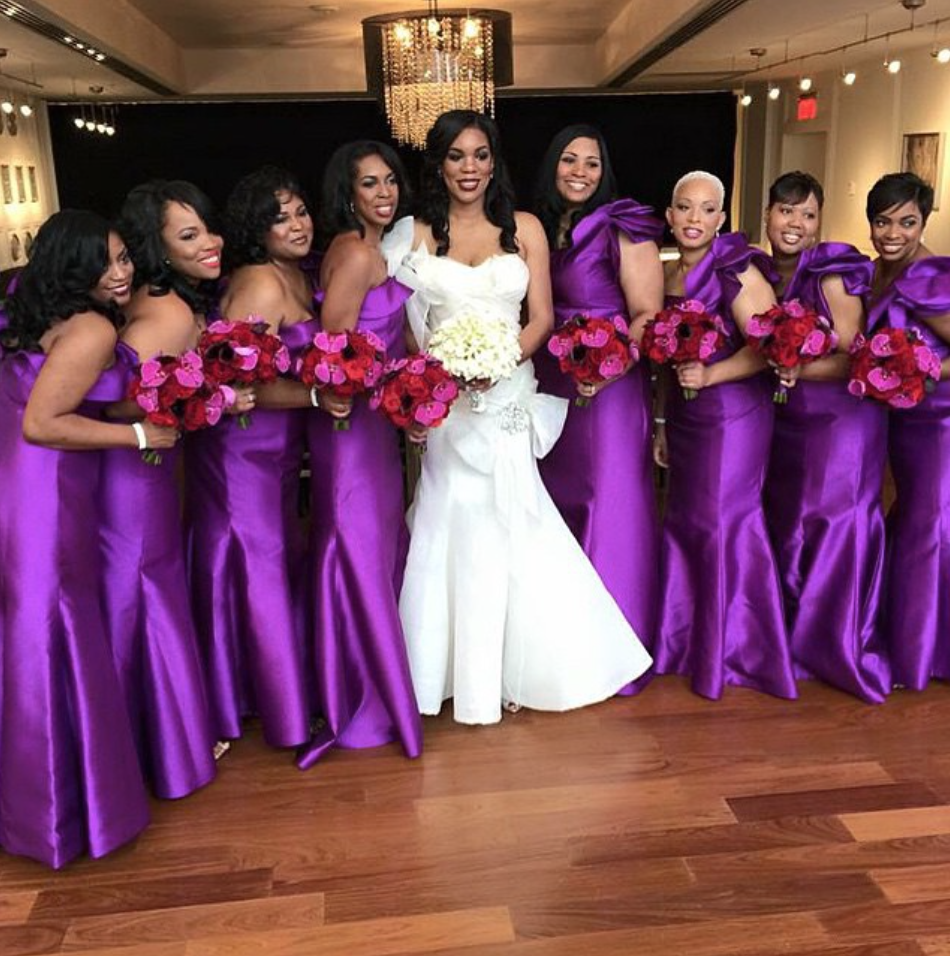 Nigerian wedding bridesmaids dress styles & colour ideas | WEDDING ...