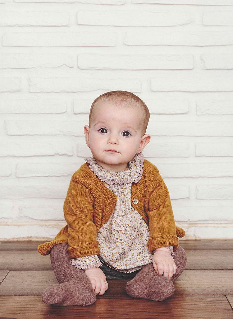 Photo of Bonnet á Pompon AW14 Baby lookbook
