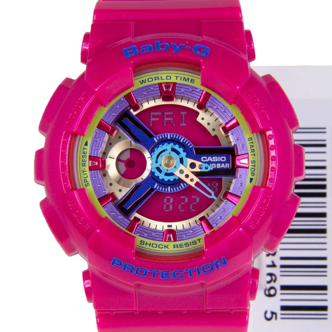 Casio Baby G Pink Shock Resist Ladies Watch Ba 112 4a 110sn 3a Ba112 Ba1124a