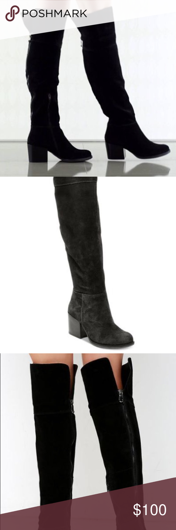 2834a6b23be Steve Madden Orabela Over the Knee Boot Never Been Worn