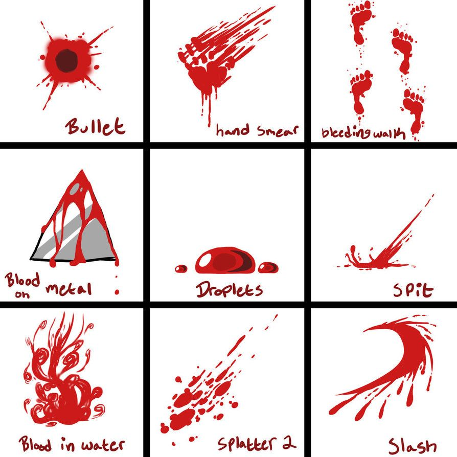 Blood Reference Sheet 2 By Baconoffury