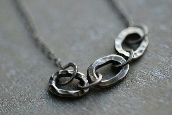 merlin . dark oxidized sterling silver