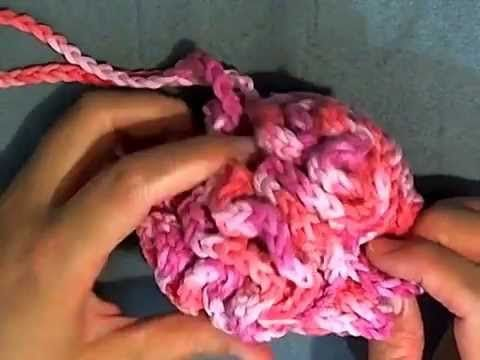 This Loofah Is So Simple To Make, And So Handy Too! | Crochet, Hand ...
