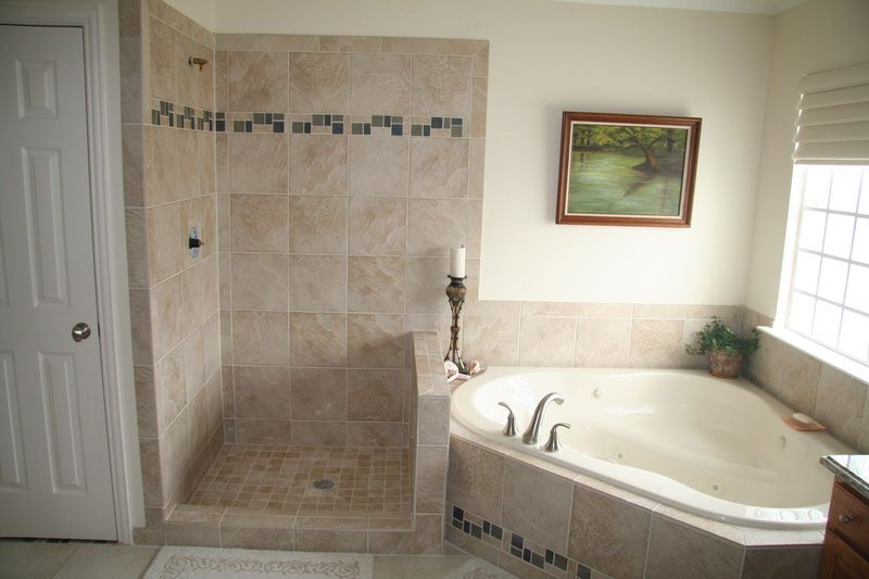 Depiction of Tiled Shower Stalls, Create Distinctive and Stylish ...