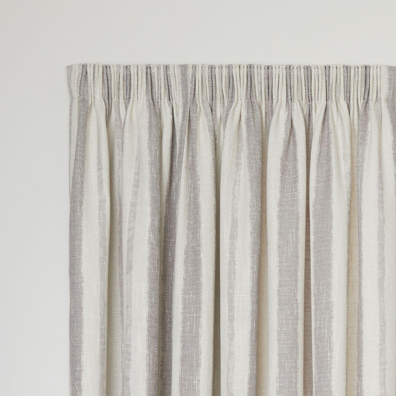 Berkeley Dove Readymade Lined Pencil Pleat Curtain Curtain