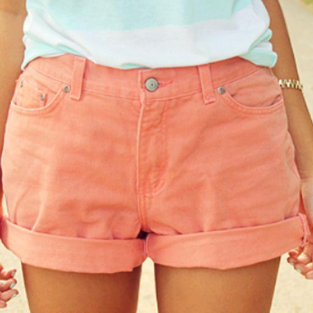 Pink short.