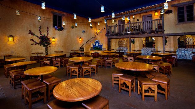 Dining Area Of Pecos Bill Tall Tale Inn And Cafe At Magic