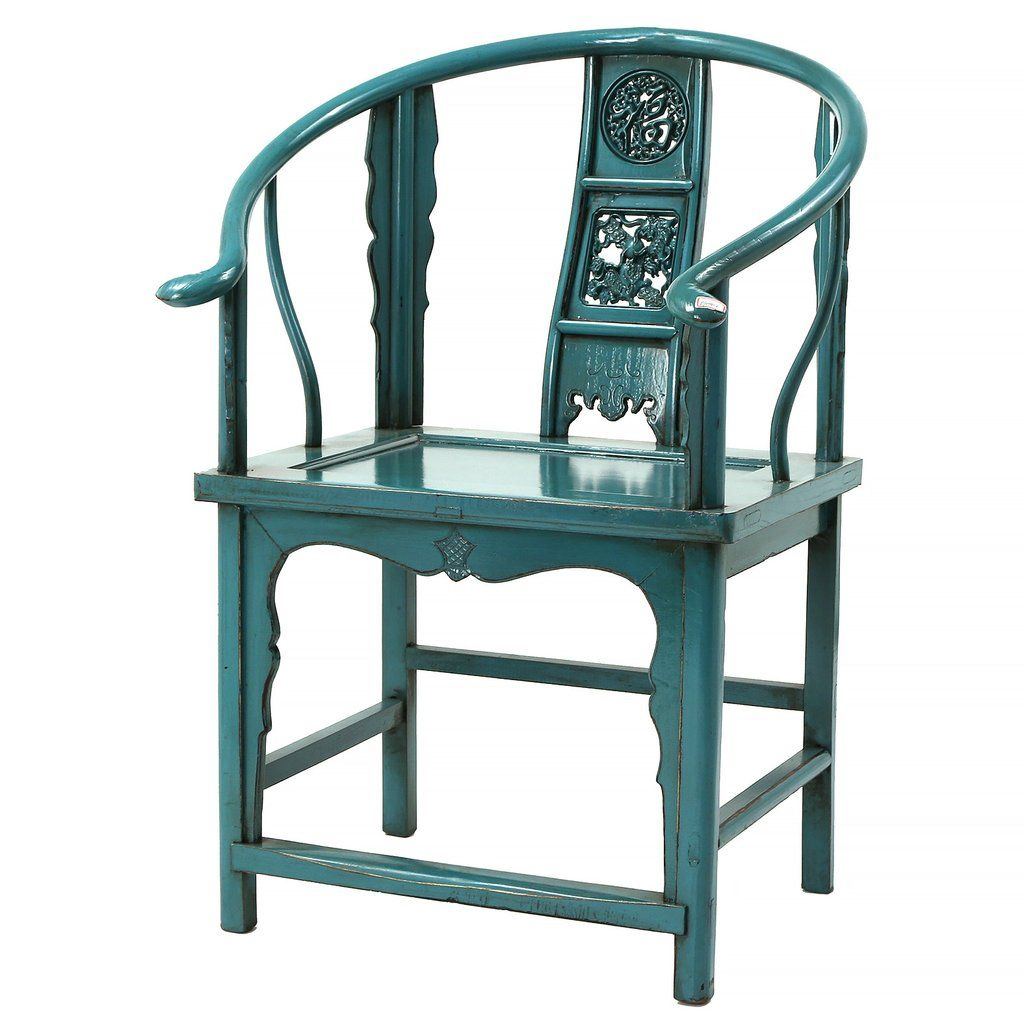 Chinese Chair Turquoise | Crazy for Chairs! | Pinterest ...
