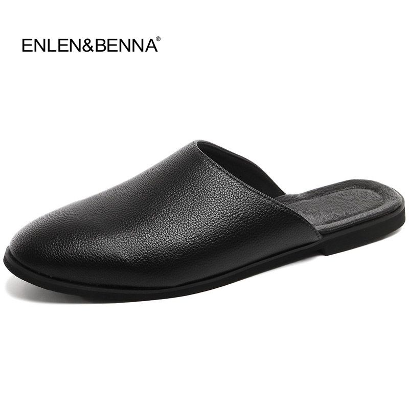 8cf0522f9d998 2017 New Arrival Leather Sandals Loafers Men Shoes Men Fashion Summer  Breathable Flats Shoes Cool Comfortable