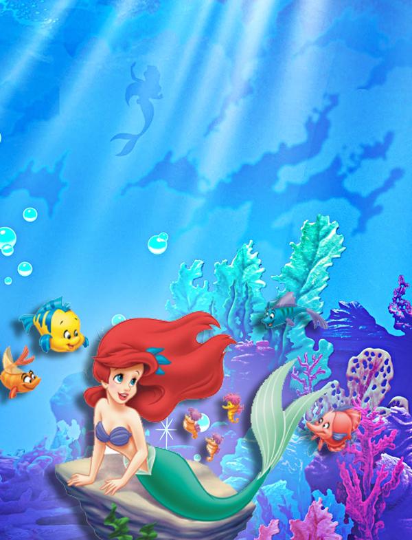 Montando Minha Festa Kit Digital Gratuito Para Imprimir Ariel A