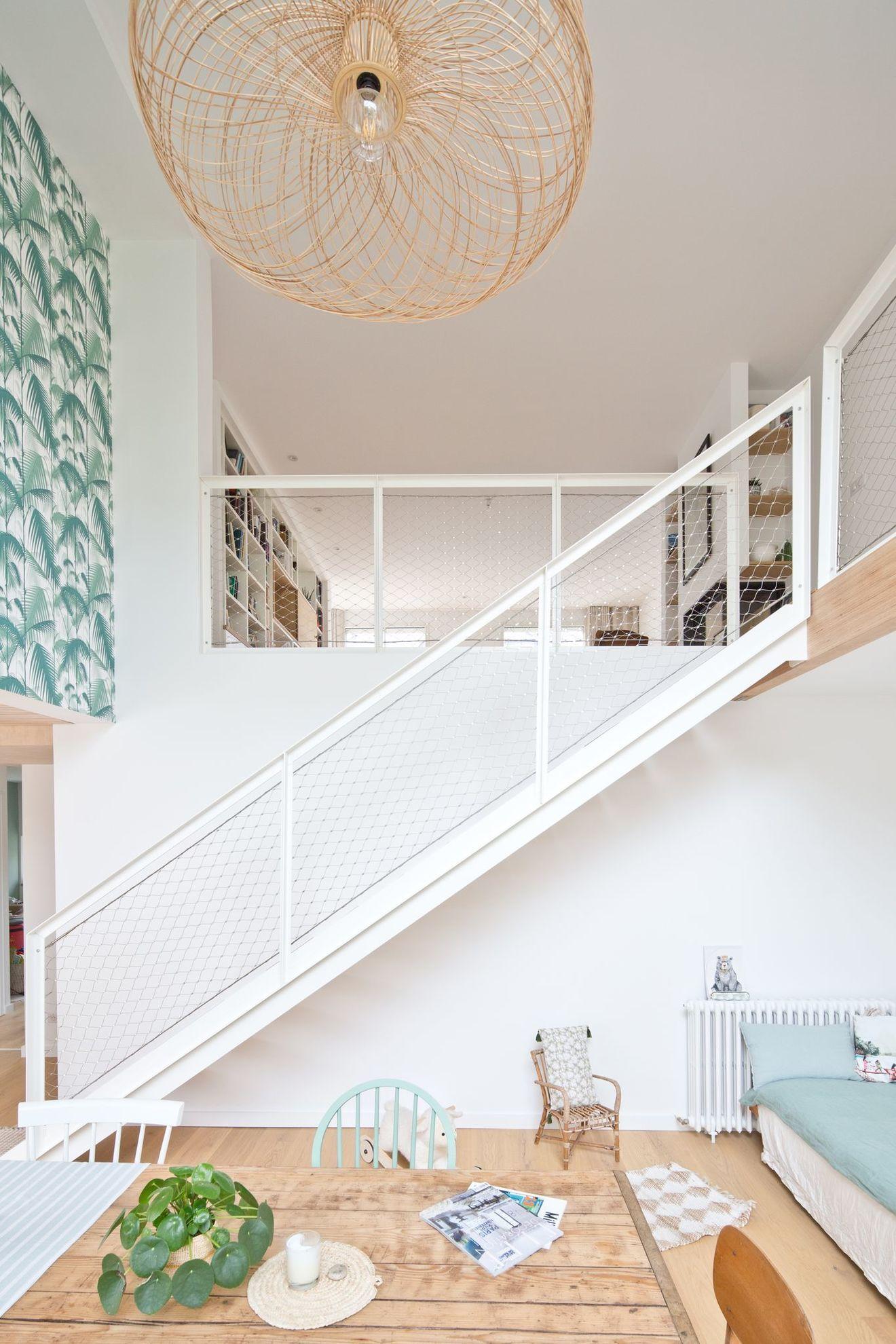 Suspension Hauteur Sous Plafond maison quimper : un cabinet de médecin rénové en maison