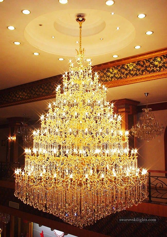 Large Crystal ChandeliersZhongshan Sunwe Lighting CoLtd We