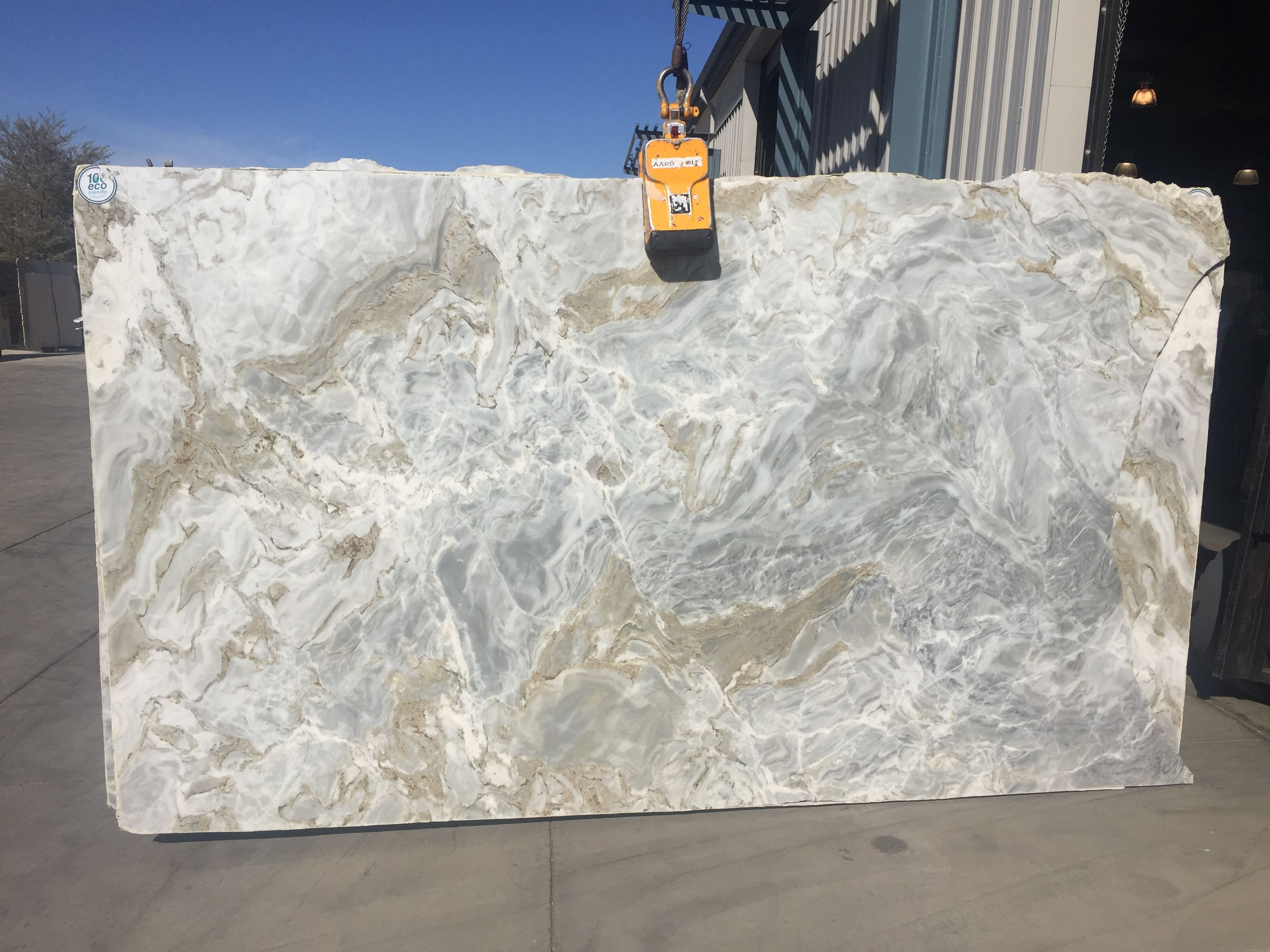 Avalanche White Polished Natural Stone Marble