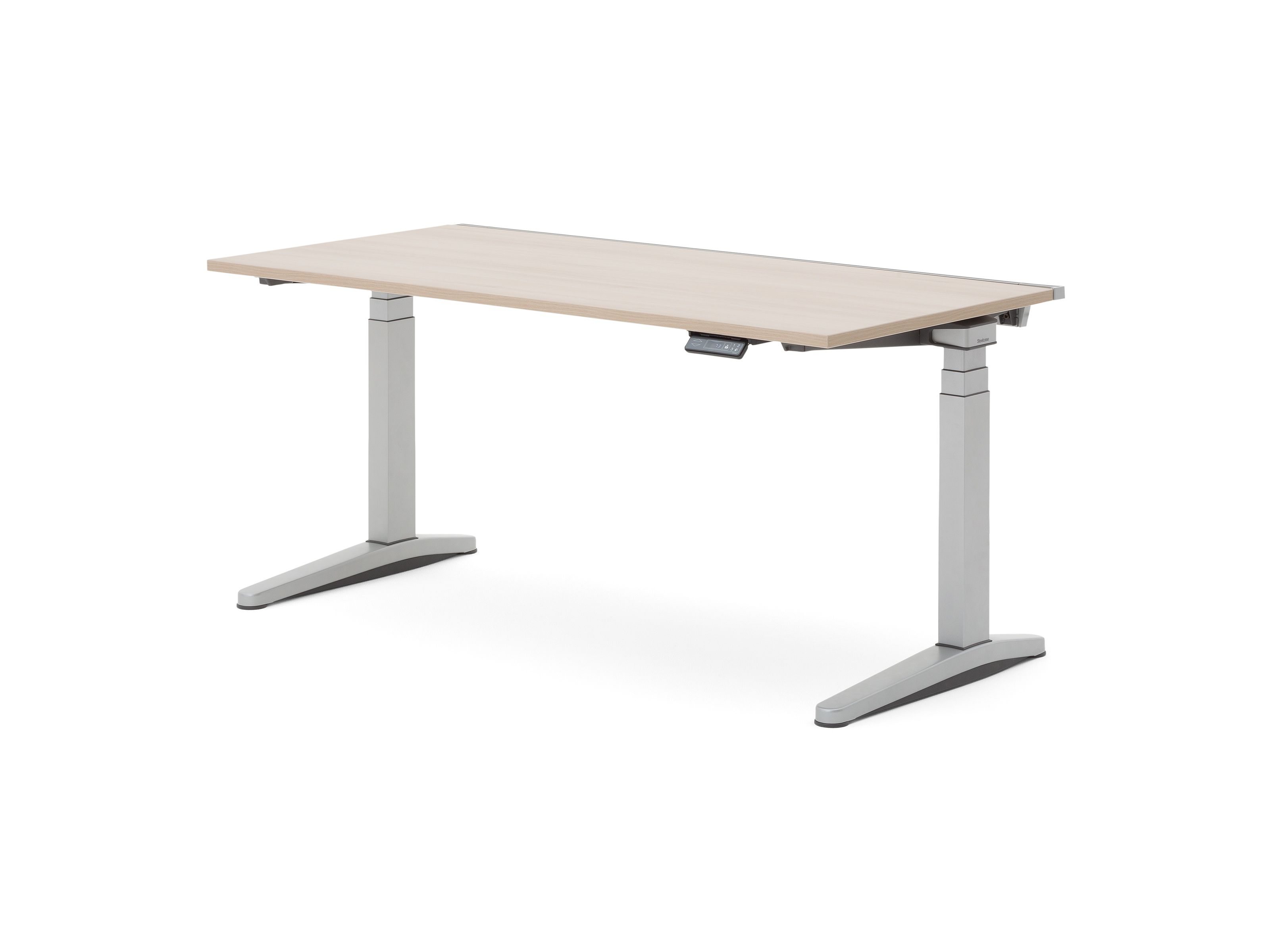 Ology Adjustable Height Computer Desk With Active Touch