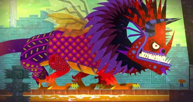 Guacamelee Boss Game Inspiration Painting Artwork
