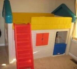 Little Tikes Loft Bunk Playhouse Bed 250 For