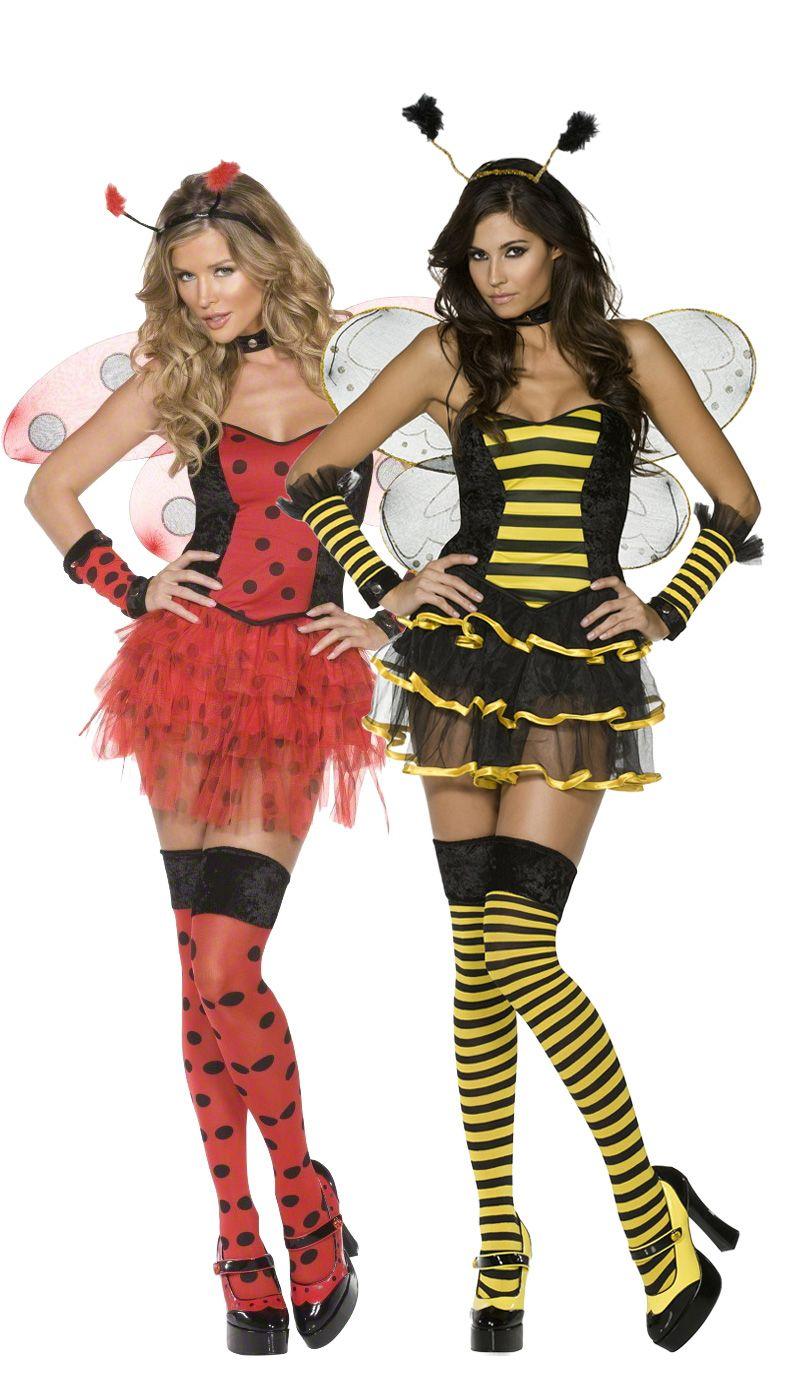 Costume coppia coccinella e ape  se festeggi Carnevale con la tua migliore  amica 0d201b53779e