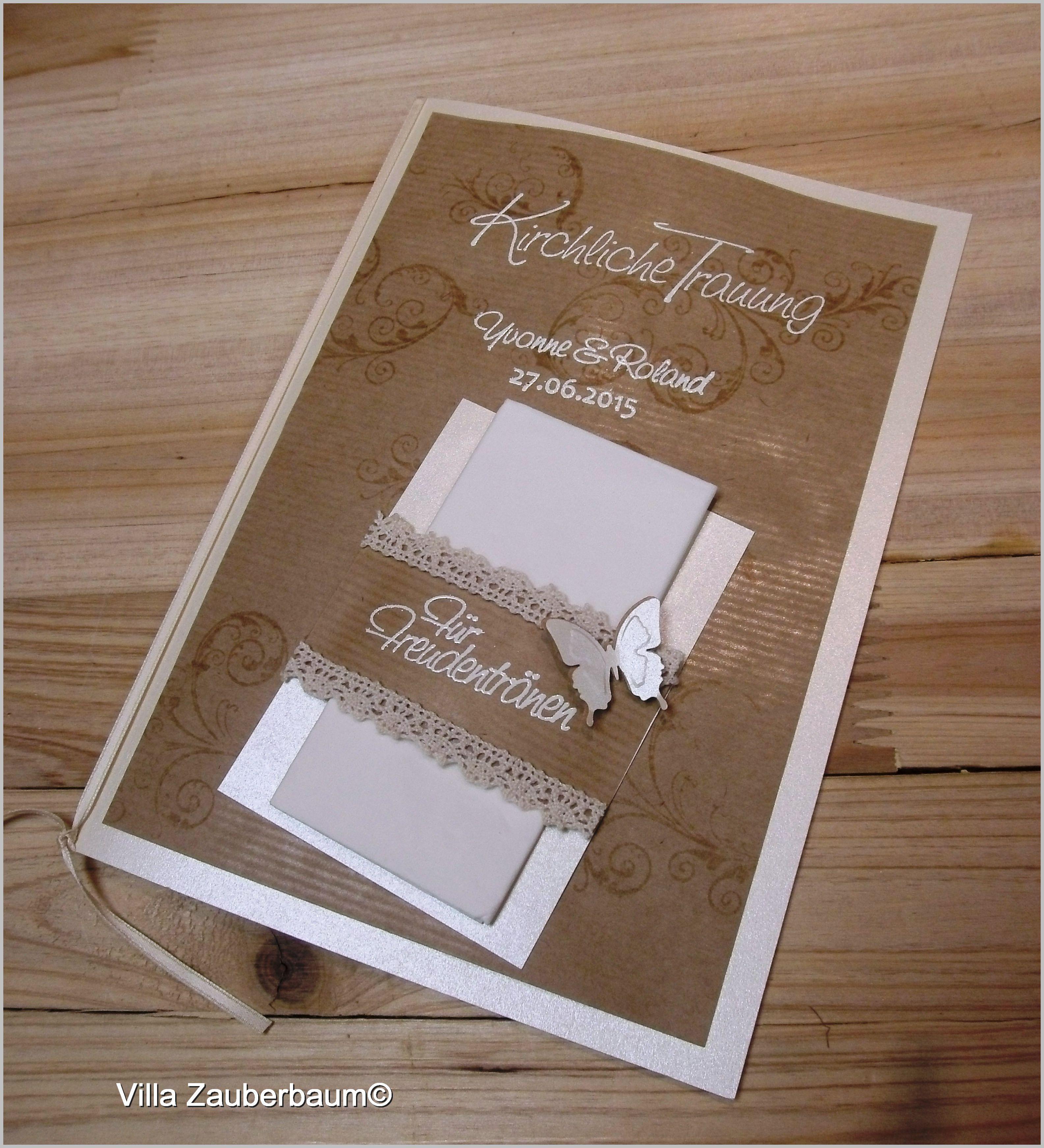 Bastelset Kirchenheft Vintage Butterfly Karte Hochzeit Ideen Fur Die Hochzeit Hochzeitseinladung