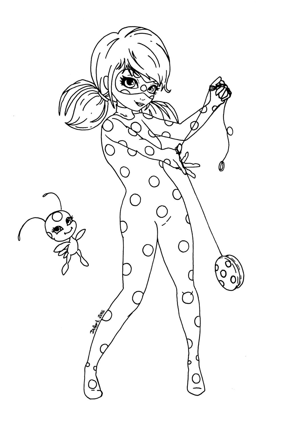 Miraculous Lady bug e Cat noir - Para Imprimir e Colorir | Colorear ...