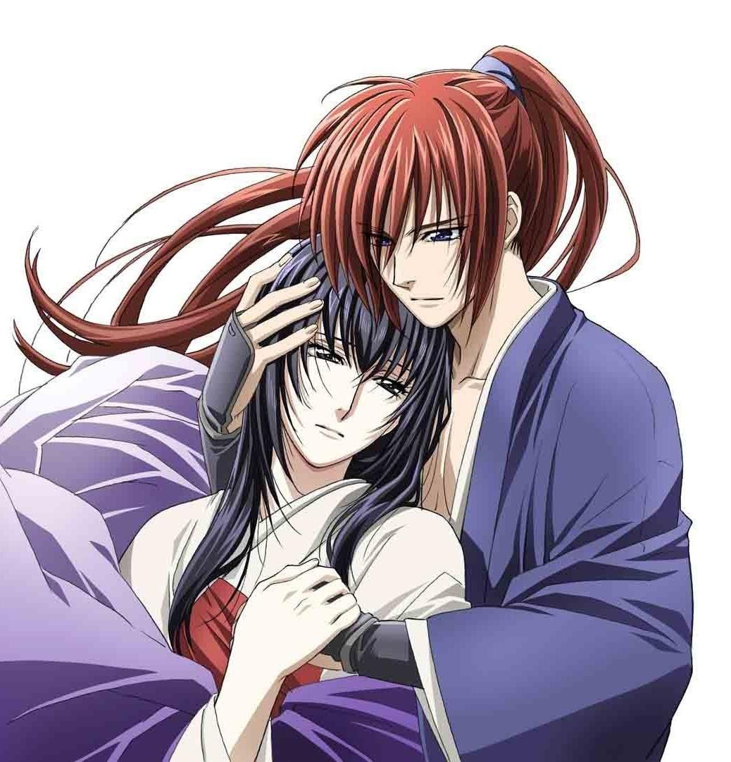 Yukishiro Tomoe & Himura Kenshin,Hitokiri Battosai