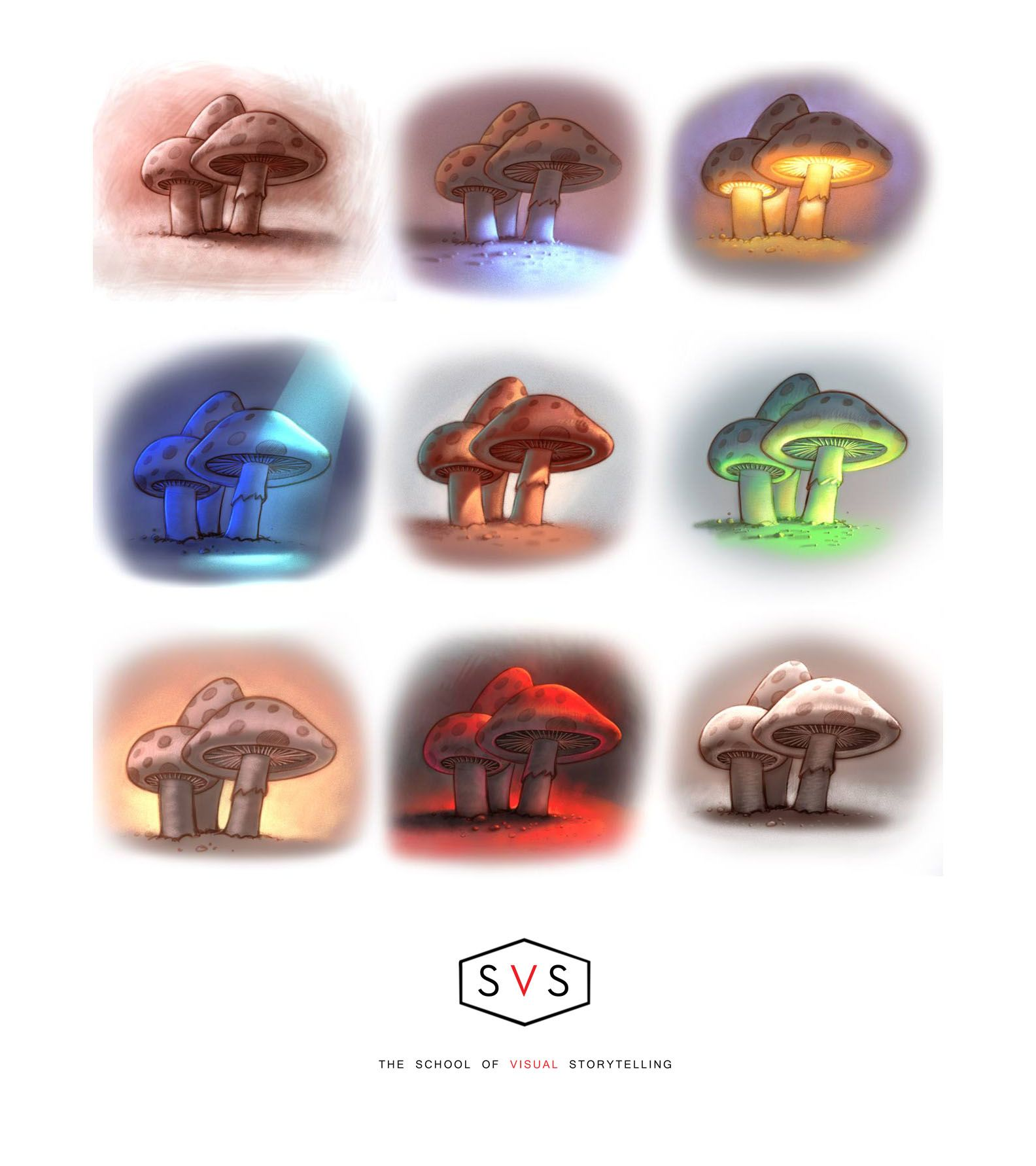 Book color illustrator - Homework Assignment For Our Svs Painting Color Light Class Http Schoolofvisualstorytelling