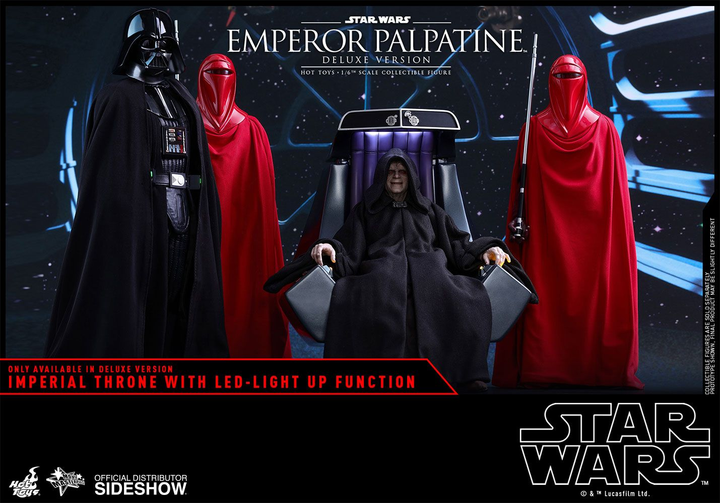Scheming Powerful And Evil To The Core Darth Sidious Restored The Sith And Destroyed The J Emperor Palpatine Star Wars Action Figures Display Star Wars Sith