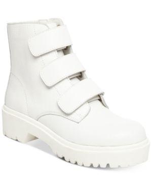 9edd7aab168 Steve Madden Women's Wayne Lug Booties - White 7.5M | Products ...