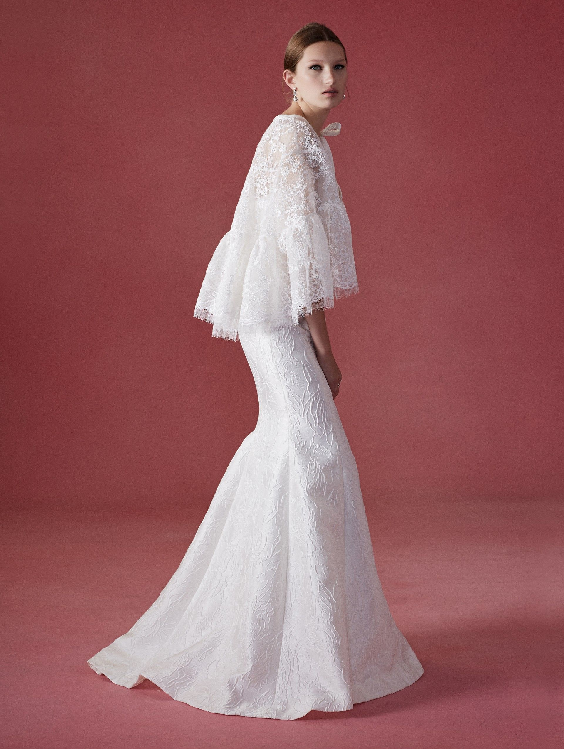 Oscar De La A Wedding Dress