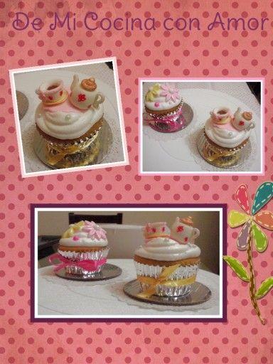 Cupcakes tea shower!