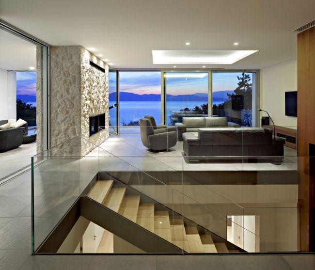 30 maisons modernes avec des grandes baies vitrées | Salons