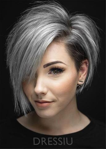 Pin Von Natasha Auf Short Hair Styles Kurze Graue Haare Haarschnitt Kurz Graue Haare
