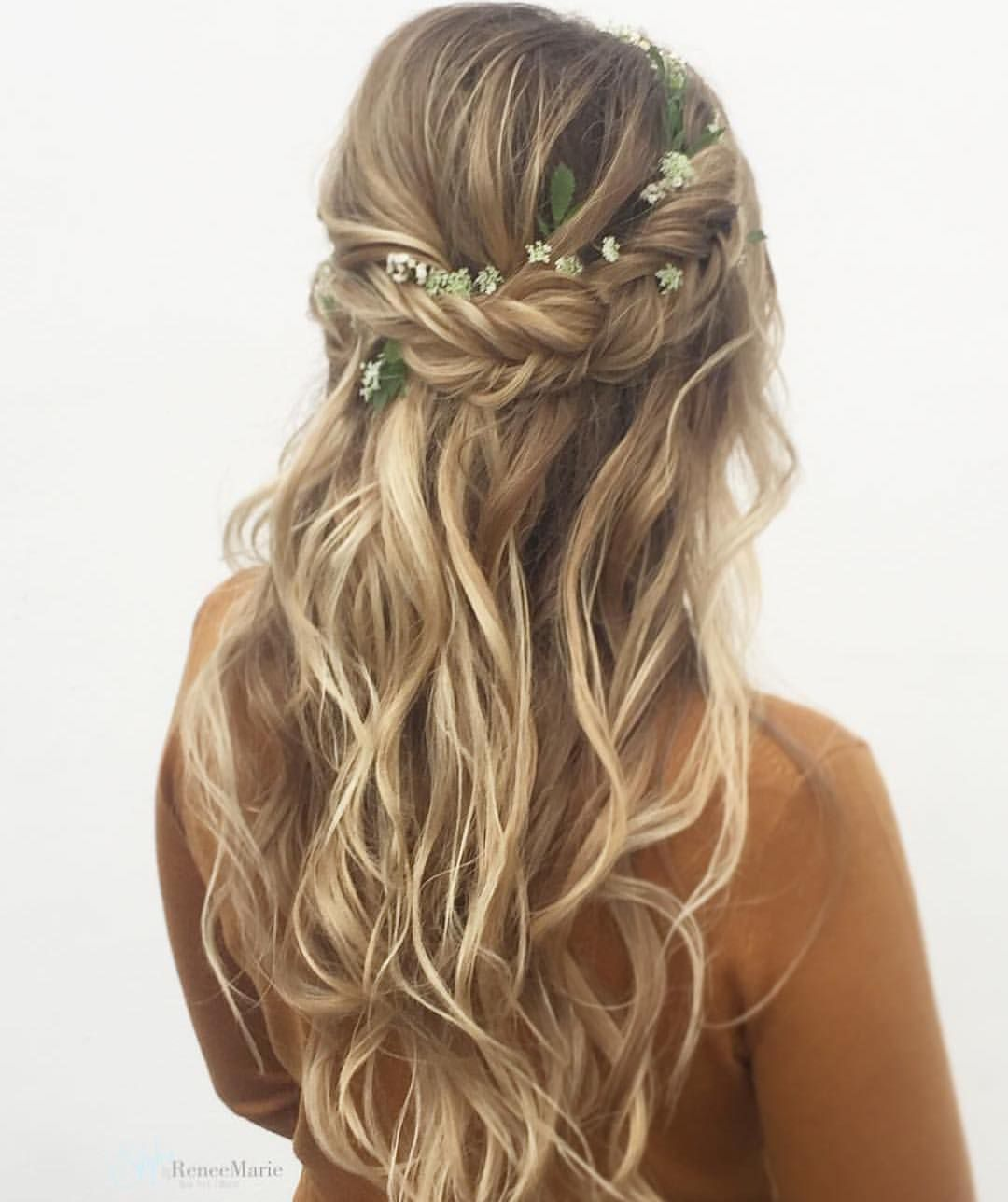 Boho Bridal Hairstyles For Carefree Bride: Boho Wedding Hair, Wedding Hair
