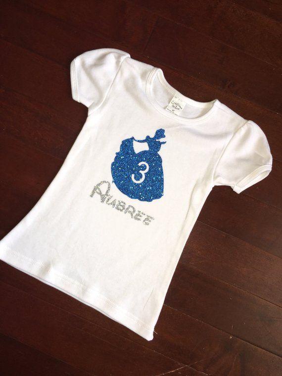 Cinderella Birthday Shirt Disney Princess Shirts