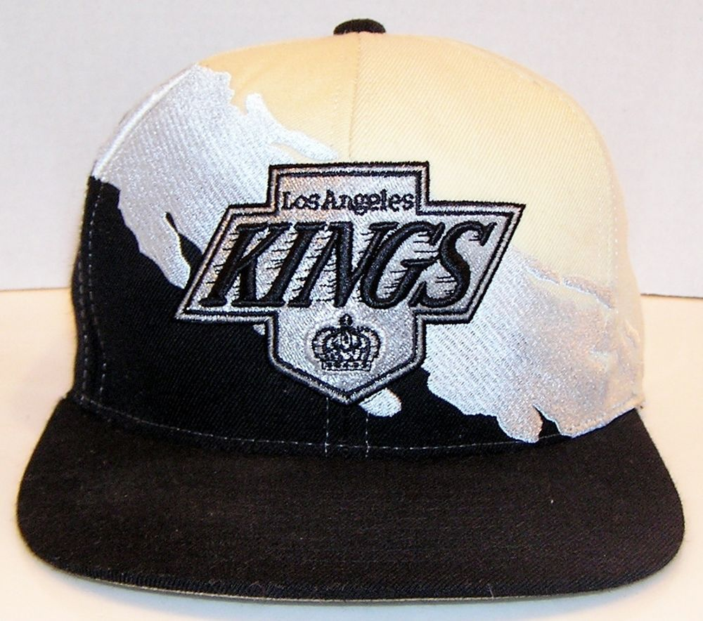 Los Angeles Kings Nhl Hockey Mitchell Ness M N Splash Design Snapback Hat Snapback Hats Hats Hats For Sale