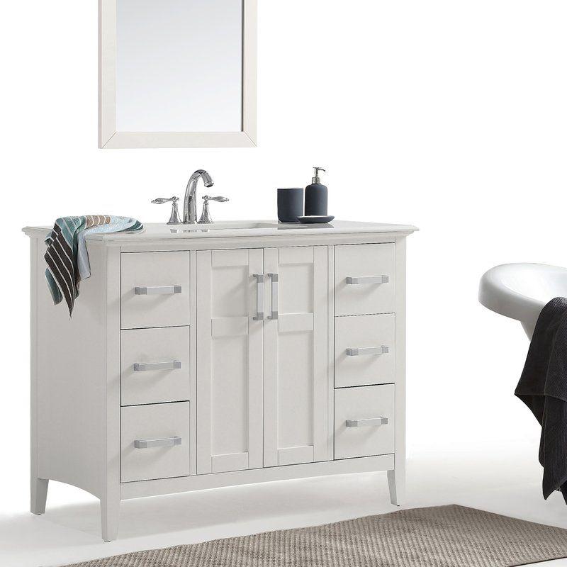 Maryport 43 Single Bathroom Vanity Set Single Bathroom Vanity
