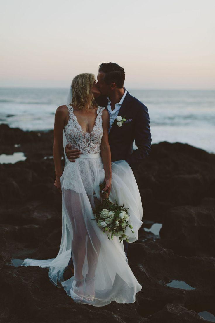Gorgeous twopiece wedding dress by helen english weddingideas