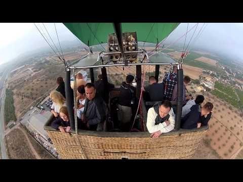 Volar en globo en Valencia