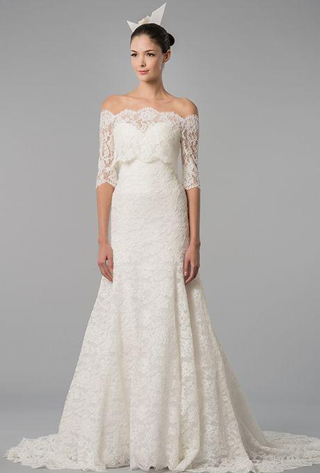 Off-the-Shoulder Wedding Dresses | Carolina herrera, 2015 wedding ...