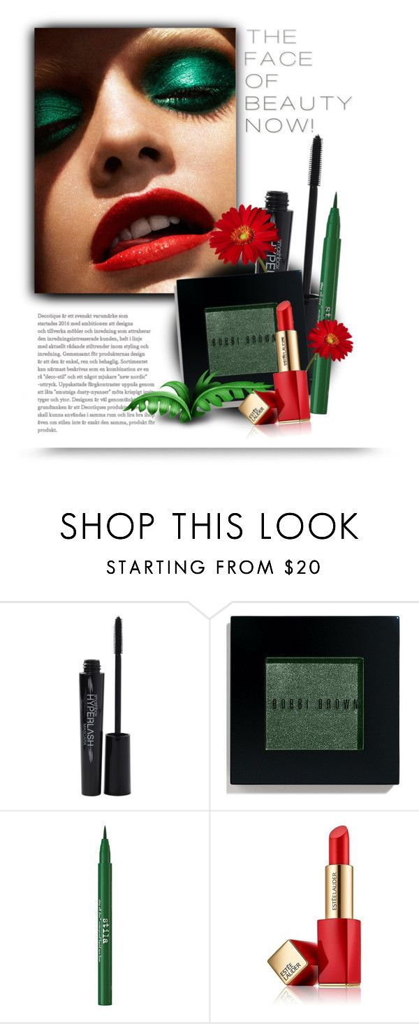 """""""B is for Bright Eyes"""" by bliznec ❤ liked on Polyvore featuring beauty, Smashbox, Bobbi Brown Cosmetics, Stila and Estée Lauder"""