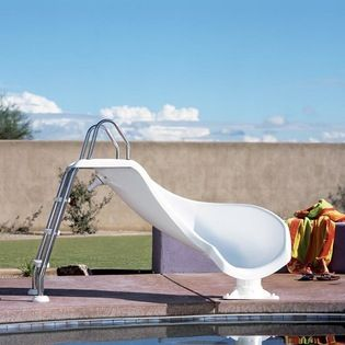 Swimming Pool Slide Home Products On Houzz Pool Water Slide Swimming Pool Slides Inground Pool Slides