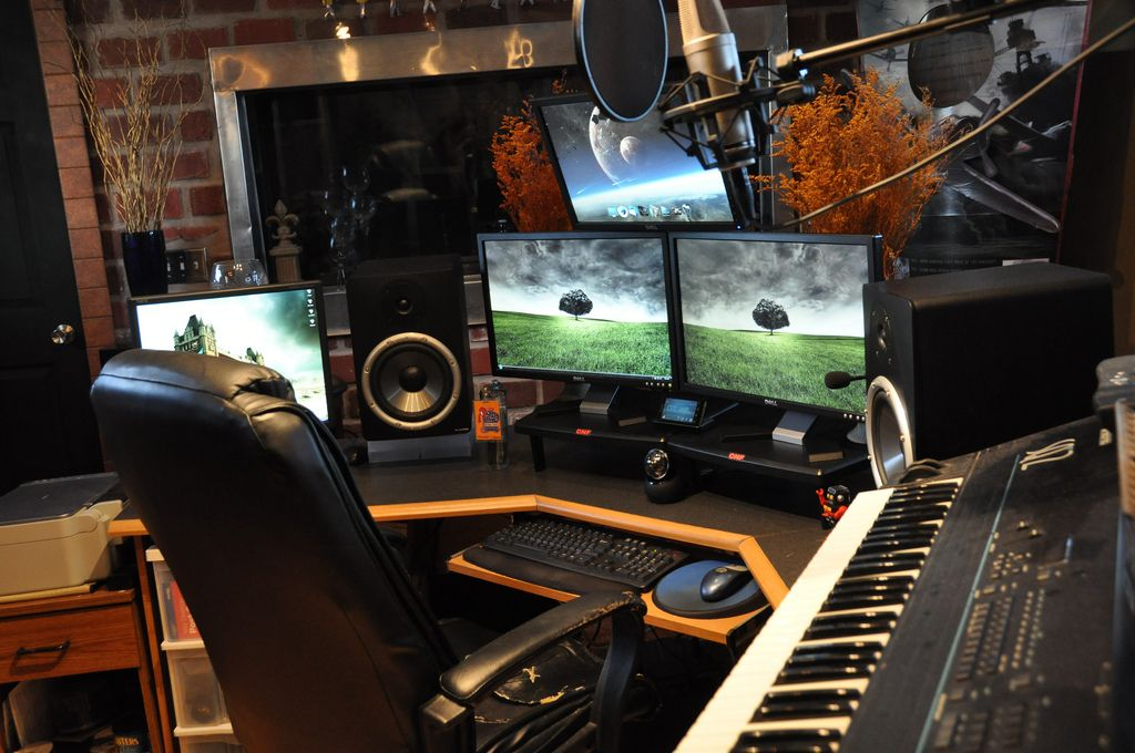 Cool 10 Images About Recording Studio On Pinterest Music Rooms Largest Home Design Picture Inspirations Pitcheantrous