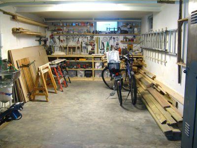 Organizing The Garage Workshop