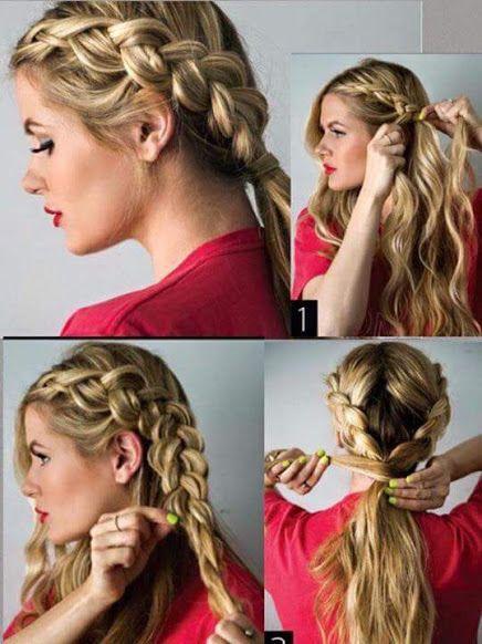 Peinados con trenzas paso a paso l hair style fun - Peinados faciles paso a paso ...