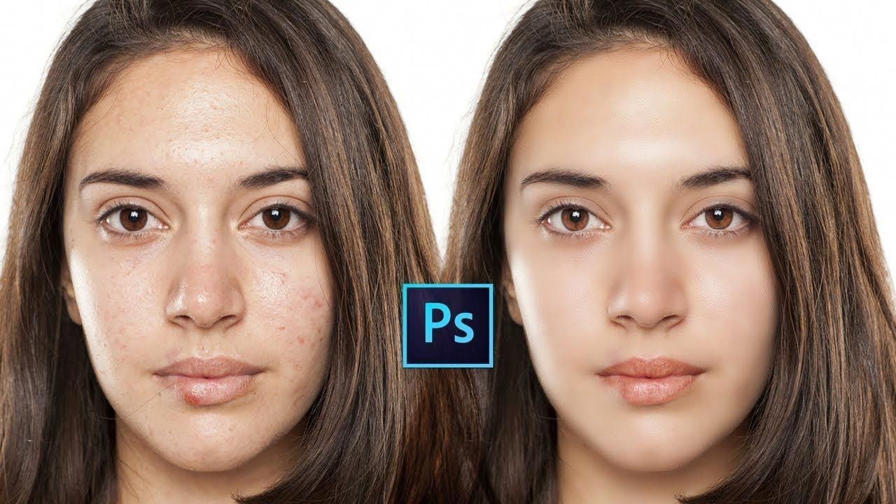 Tutorial Retouch And Airbrush Skin To Make
