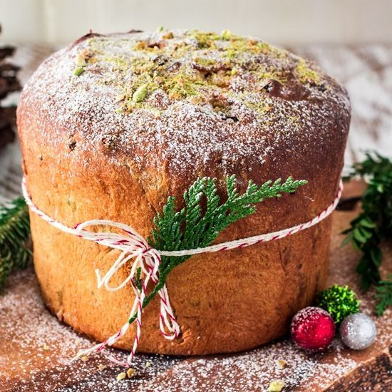 Photo of Cranberry, Pistachio and White Chocolate Panettone – Olivia's Cuisine
