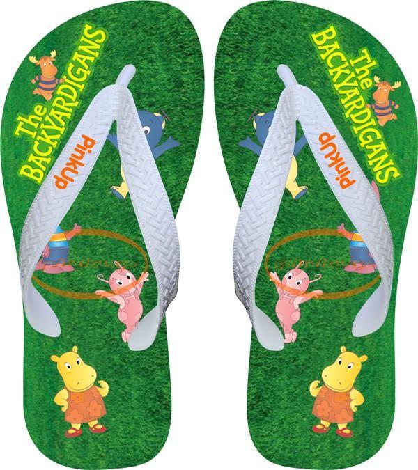 Chinelo Slide Beach Sandalia Desenho Bob Esponja
