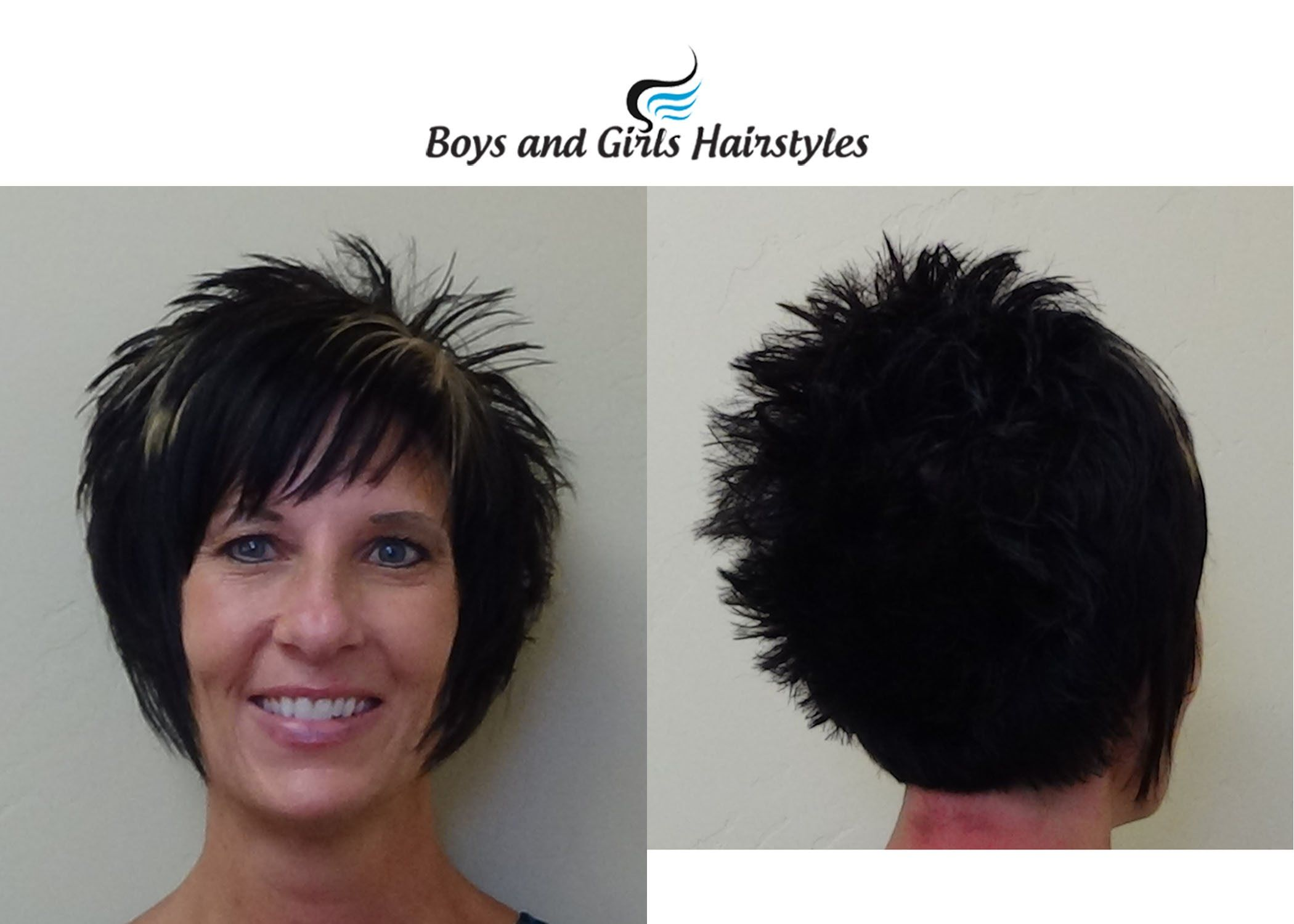 Wispy Spiked Hairstyle For Women Short Wispy Haircuts